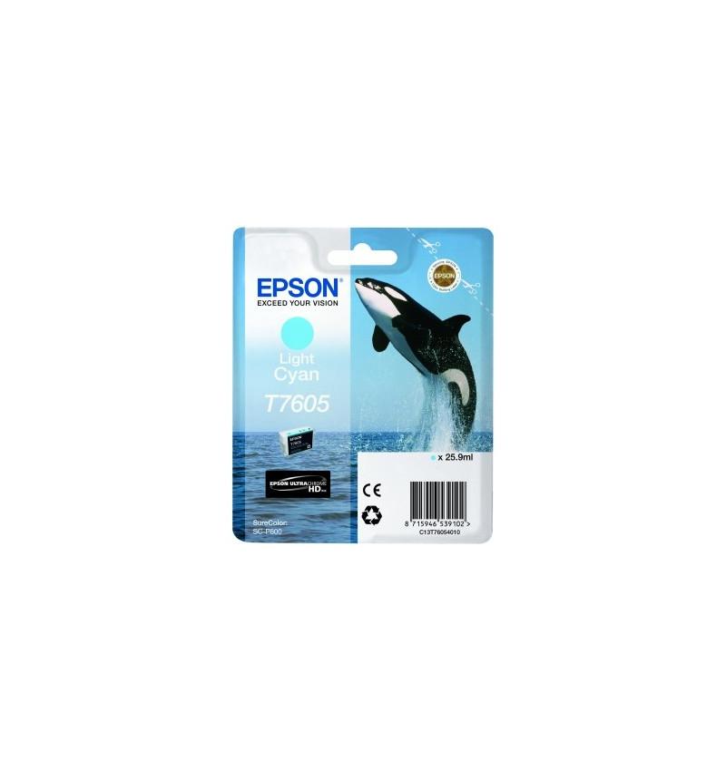 Tinteiro Epson SC-P600 Ciano (C13T76044010)