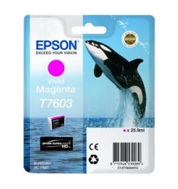 Tinteiro Epson SC-P600 Magenta (C13T76034010)