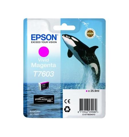 Tinteiro Original Epson SC-P600 Magenta (C13T76034010)