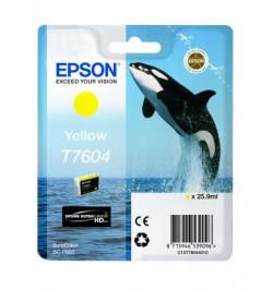 Tinteiro Epson SC-P600 Amarelo (C13T76044010)