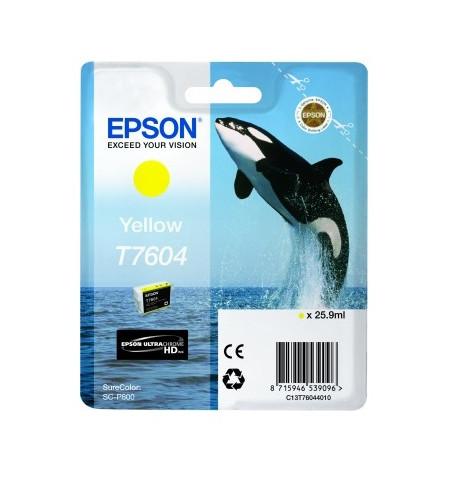 Tinteiro Original Epson SC-P600 Amarelo (C13T76044010)