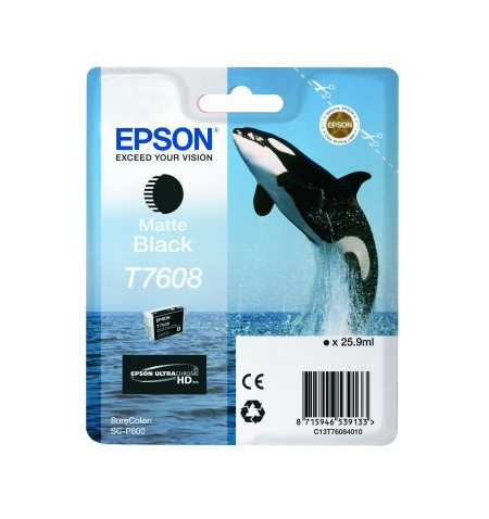 Tinteiro Original Epson SC-P600 Preto (C13T76084010)