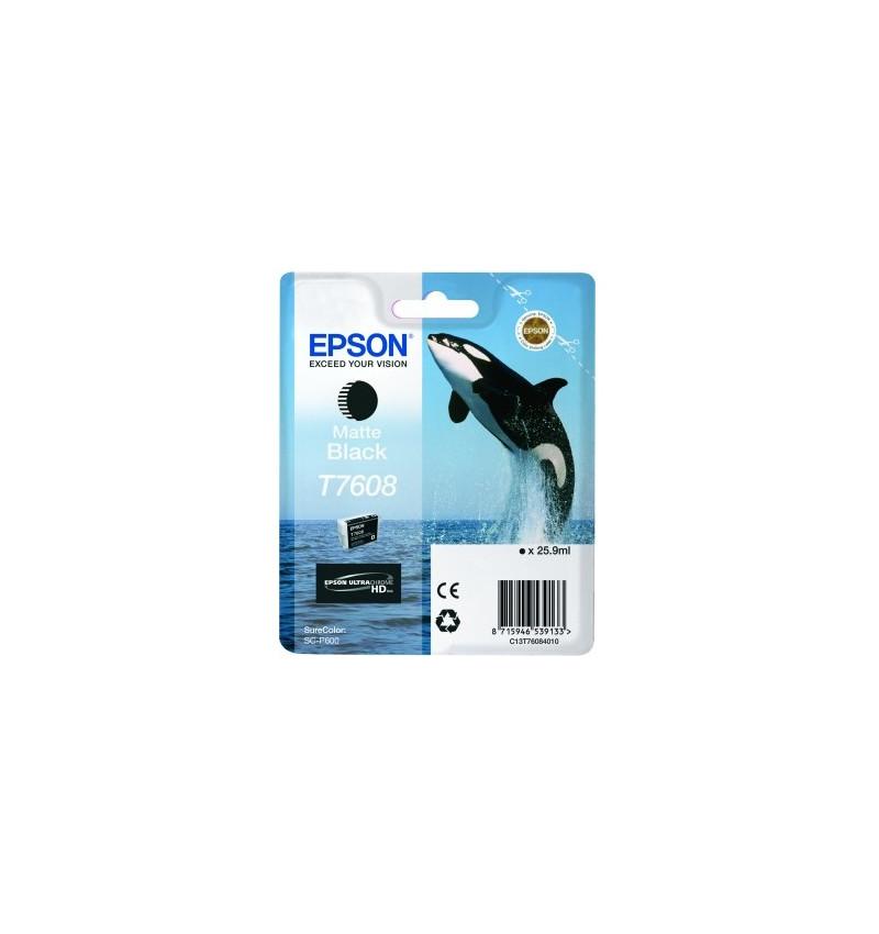 Tinteiro Epson SC-P600 Preto (C13T76084010)