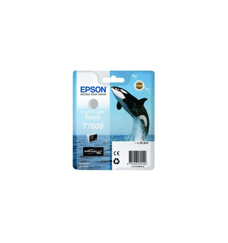 Tinteiro Epson SC-P600 Cinza Claro (C13T76094010)