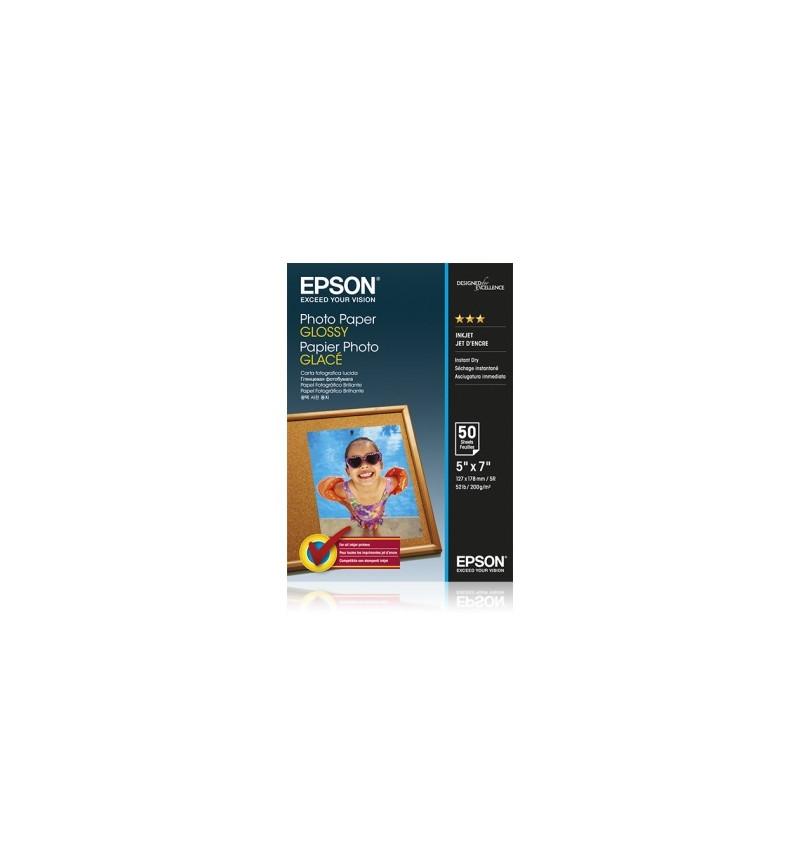 Papel Foto EPSON 5x7 50 sheet
