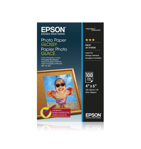Papel Foto EPSON 4x6 100 sheet
