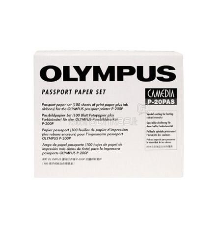 100 Folhas de Papel Olympus A6 P-200 P-20