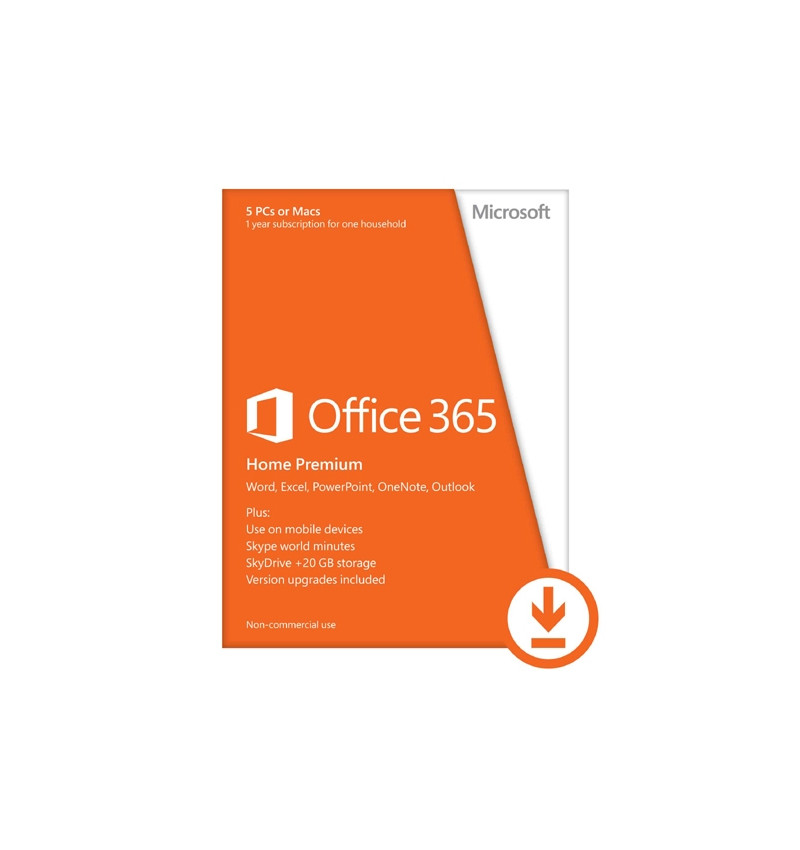 Office 365 Home 32-bit/x64 All Languages 1Year - Licença ESD