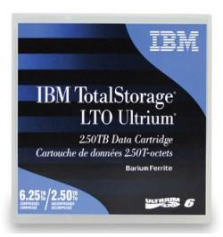 Cart.IBM Ultrium LTO-6 (BaFe) 2,5TB/6,25TB