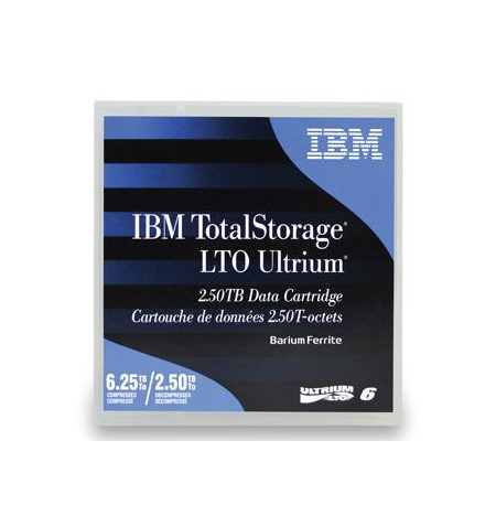 Tape IBM Ultrium LTO-6 2.5TB/6.25TB (00V7590)