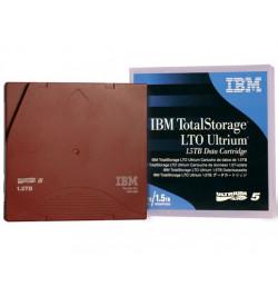 Cart.IBM Ultrium LTO-5 1,5TB/3,0TB etiquetado