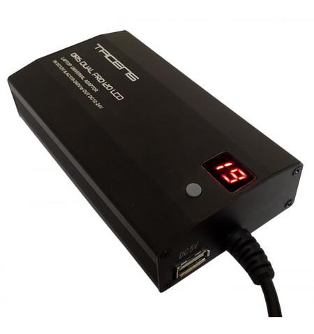 Tacens Carregador Notebook Oris PRO 120W LCD Aluminio (5ORISDUALPRO120)