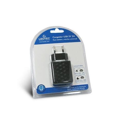 Carregador Tablet/Smartphone 5V 2A (LECTABUSB)
