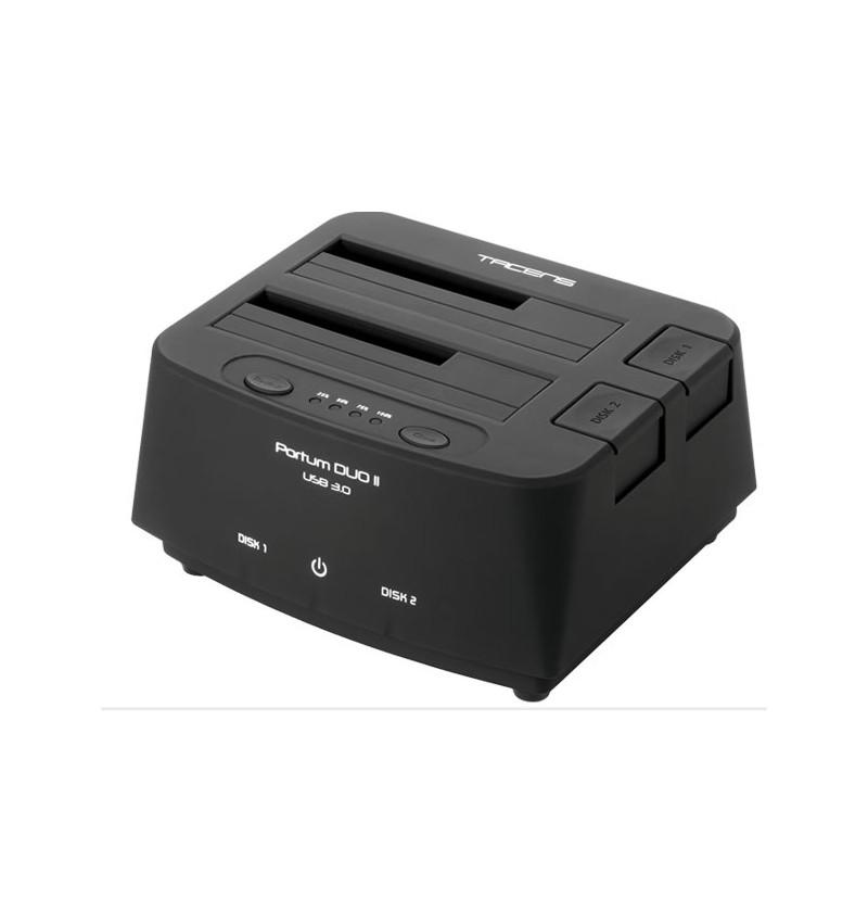 Docking Station Tacens Portum Duo USB 3.0 (5PORTUMDUO2)