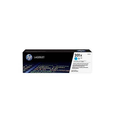 Toner Original HP 201X High Capacity - Ciano (CF401X)