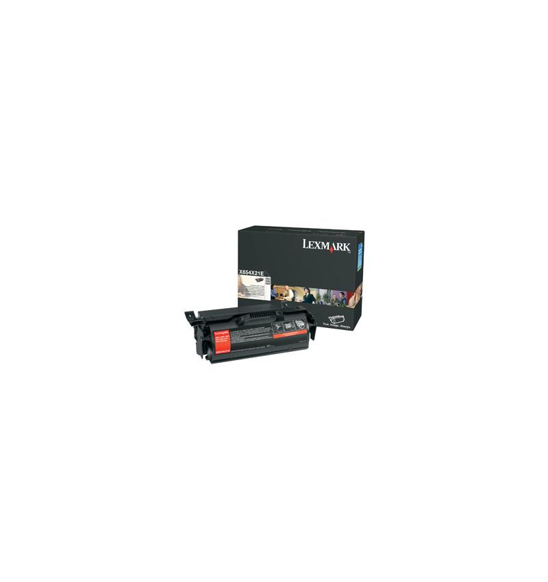 Toner Original X654, X656, X658 - Preto (X654X31E)