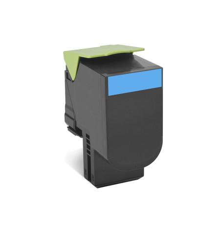 Toner Original Lexmark 70C2XCE - Ciano
