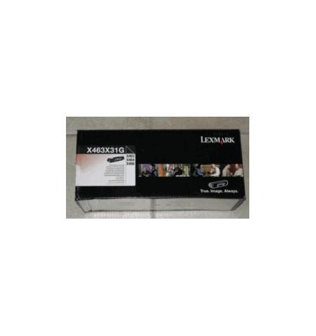Toner Original Lexmark X463/464/466 - Preto (X463X31G)
