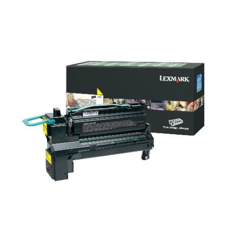 Toner Original Lexmark XS795DTE/XS798DE/XS798DTE - Amarelo (24B6021)