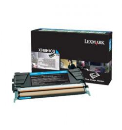 Toner Original Lexmark X748 - Ciano (X748H3CG)