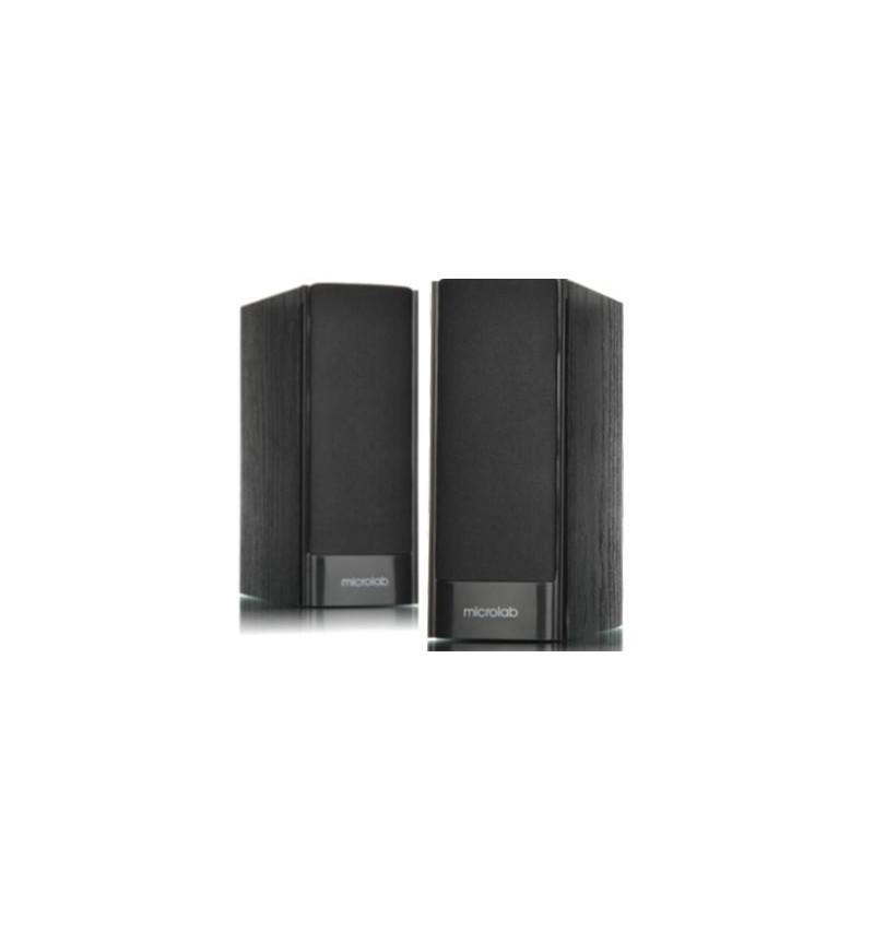 Colunas 2.0 Microlab B56 3W RMS MDF – Preta