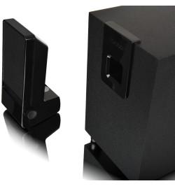 Colunas 2.1 Microlab M100 10W RMS - Pretas