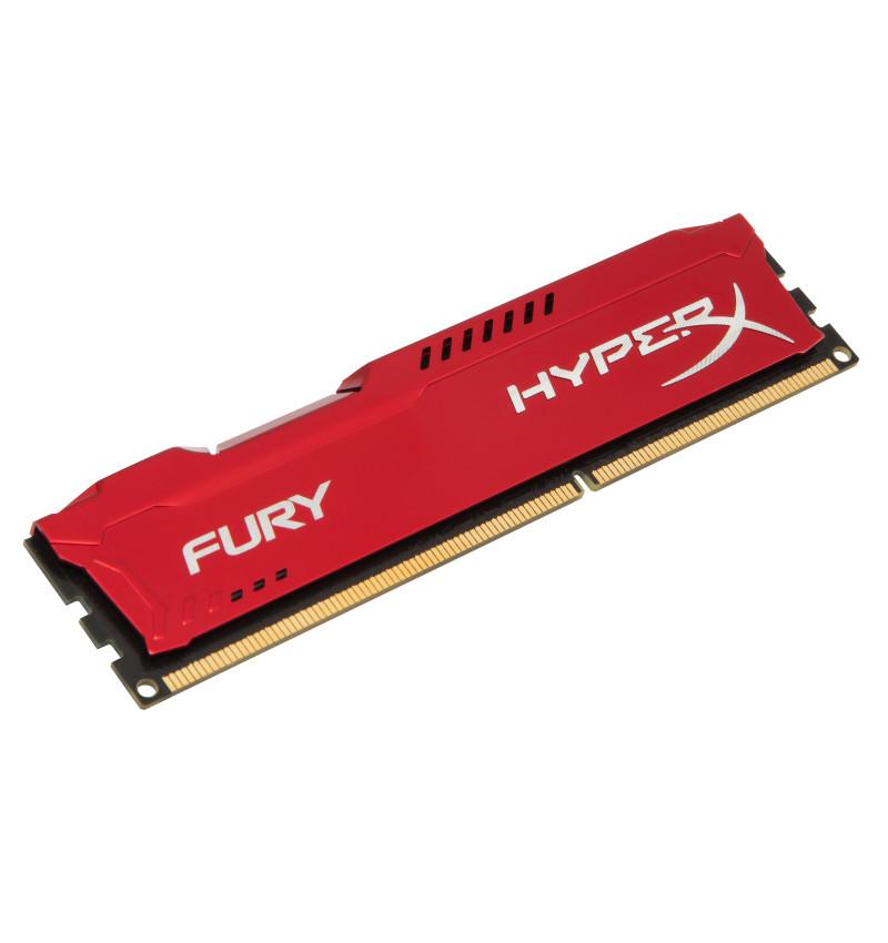 DDR3 HyperX 4GB 1600MHz CL10 FURY Red Series