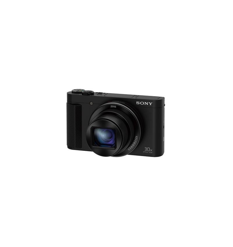 Cyber-shot HX90VB, 18 MP, Visor OLED , 30x Zoom, BIONZ X, NFC com GPS, Cor Preto
