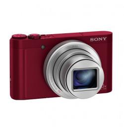Cyber-shot WX500R, 18 MP, 30x Zoom, BIONZ X, NFC, Cor Vermelho