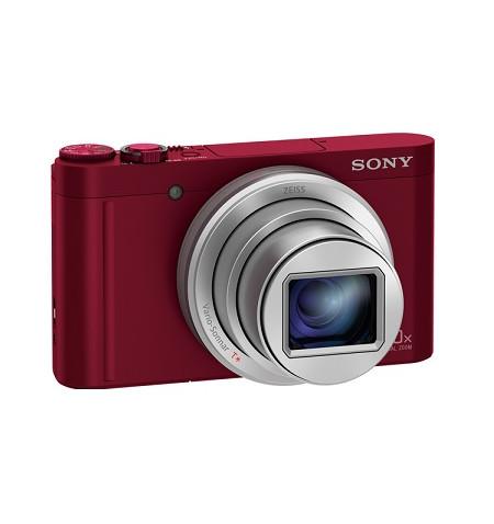 Máquina Fotográfica Sony WX500R Vermelha - (DSC-WX500R)
