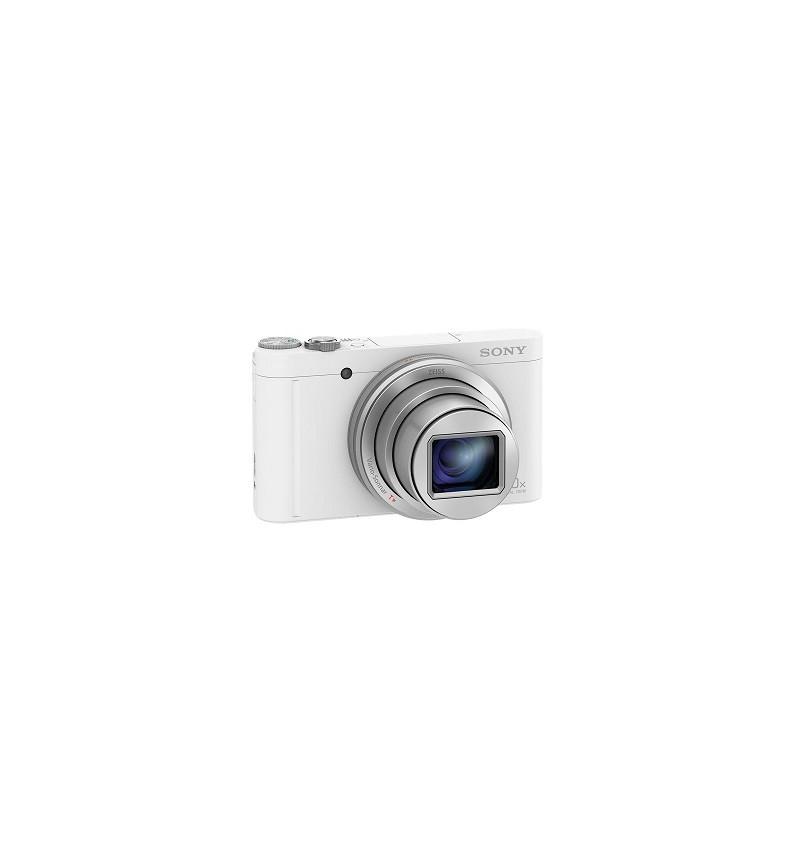 Cyber-shot WX500W, 18 MP, 30x Zoom, BIONZ X, NFC, Cor Branco