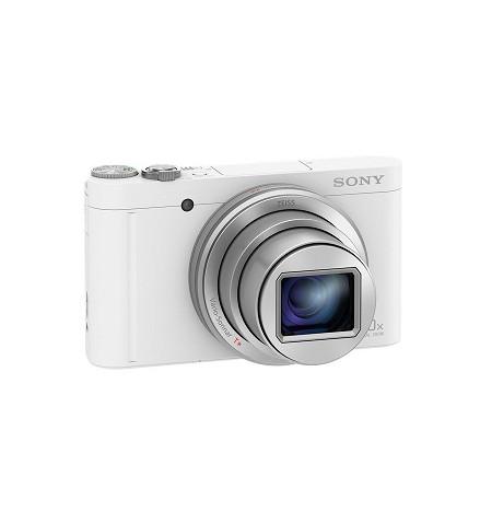 Máquina Fotográfica Sony WX500W Branca - (DSC-WX500W)