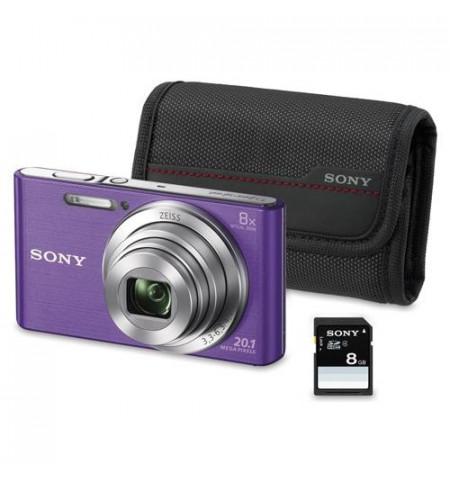 Máquina Fotográfica Sony W830 - (KW830VBGSFDI)