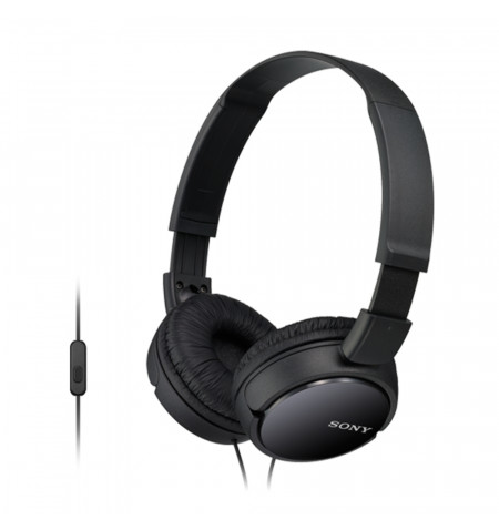 Auscultador dobrável com microfone, Unidade de diafragma 30 mm, Sensibilidade: 98dB/mW, Impedância: