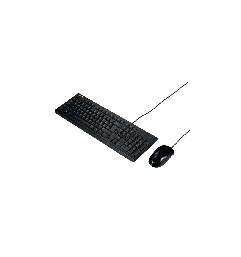 Teclado + Rato U2000 Wired USB - Preto