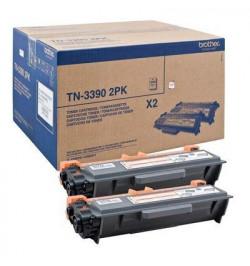 Toner Mega Capacidade Twin (2x) - duraçăo: 24.000 pág.(12.000 pags cada unidade), para HL-6180DW