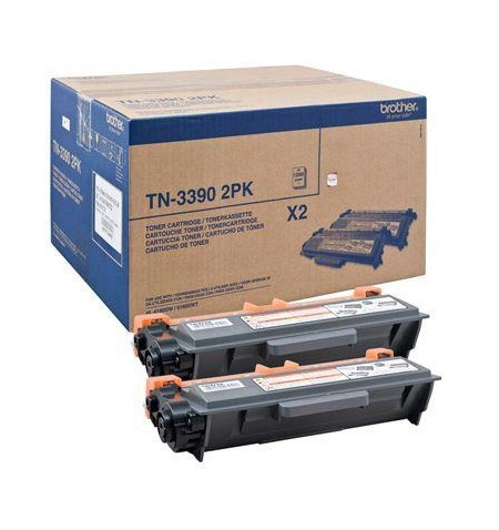 Duplo Toner Original Brother HL-6180DW (TN3390TWIN)