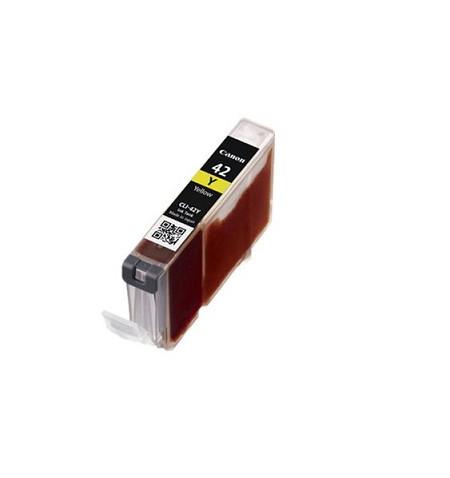 Tinteiro Original Canon CLI-42 Amarelo (6387B001)