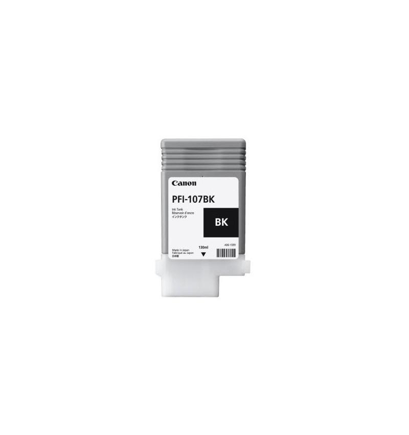 Tinteiro PFI-107 de 130 ml BK (black)
