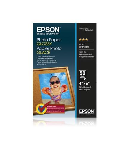 Papel Foto EPSON 4x6 50 sheet