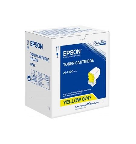 Toner Original Epson AL-C300 Amarelo (C13S050747)