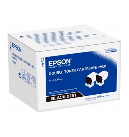 Toner Original Epson AL-C300 Preto (C13S050751)