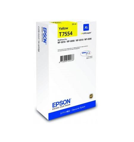 Tinteiro Original Epson XL Amarelo (C13T755440)