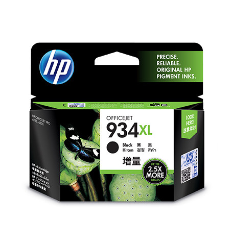 Tinteiro Original HP 934XL Preto - C2P23AE