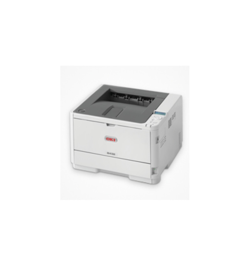 B432dn - Impressora laser/LED A4 1200X1200 dpi, 40ppm, 512MB RAM + 3GB eMMc, USB 2.0, Ethernet 10/10