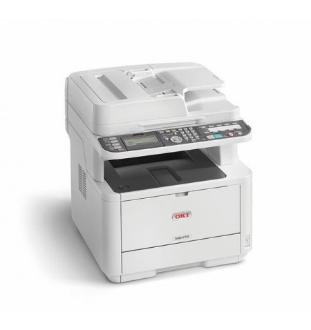 Impressora Multifunções Oki MB472DNW (45762102)
