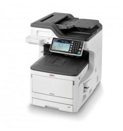 MC853dn - Multifuncional A3 LED cor e mono (4 em 1): Impressăo, Digitalizaçăo, Cópia e Fax com rede