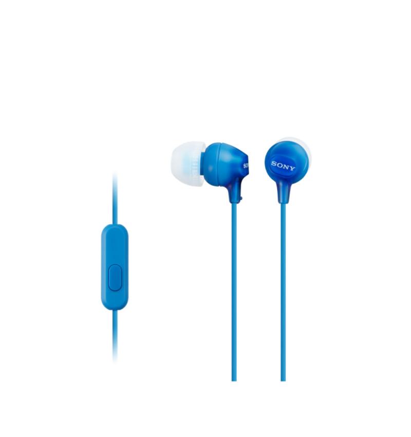 MDR-EX15LPLI Azul - Auscultadores de tipo auricular fechado