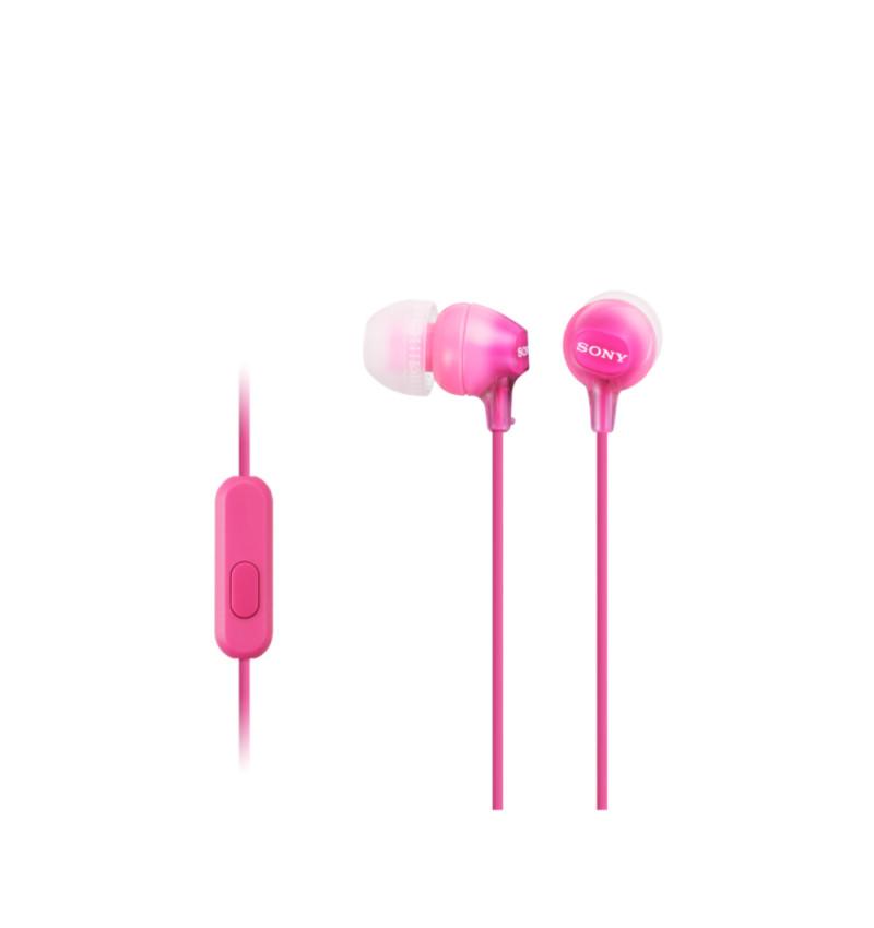 MDR-EX15LPPI Rosa - Auscultadores de tipo auricular fechado