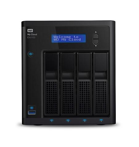 Disco Externo Western Digital EX4100 - WDBWZE0160KBK-EESN